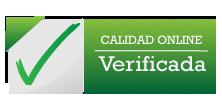 Certificado de Calidad Online web