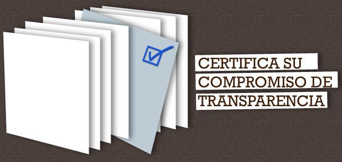 Compromiso de transparencia